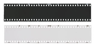 Κενή γραπτή λουρίδα ταινιών Στοκ φωτογραφία με δικαίωμα ελεύθερης χρήσης
