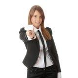 κενή γυναίκα επαγγελμα&ta Στοκ φωτογραφία με δικαίωμα ελεύθερης χρήσης