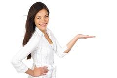 κενή γυναίκα παλαμών χεριών στοκ φωτογραφία με δικαίωμα ελεύθερης χρήσης
