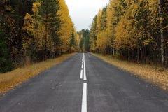 Κενή εθνική οδός Στοκ φωτογραφία με δικαίωμα ελεύθερης χρήσης