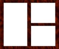 κενή εικόνα πλαισίων ξύλινη Στοκ φωτογραφίες με δικαίωμα ελεύθερης χρήσης