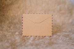 Κενή εκλεκτής ποιότητας κάρτα με τις διακοσμήσεις Χριστουγέννων Στοκ φωτογραφία με δικαίωμα ελεύθερης χρήσης