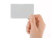 κενή επαγγελματική κάρτα στοκ εικόνα