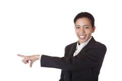 κενή επιχειρηματίας copyspace πο&up στοκ φωτογραφίες με δικαίωμα ελεύθερης χρήσης