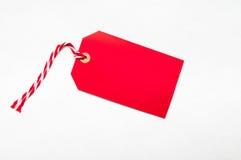 Κενή ετικέττα δώρων με το διάστημα αντιγράφων για το κείμενο Στοκ Εικόνες