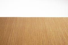 Κενή ελαφριά ξύλινη επιτραπέζια κορυφή Στοκ Εικόνα