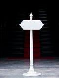 Κενή θέση σημαδιών Στοκ φωτογραφία με δικαίωμα ελεύθερης χρήσης