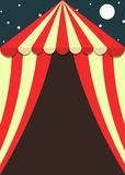 Κενή ιπτάμενο ή αφίσα σκηνών καρναβαλιού και φεστιβάλ Στοκ Εικόνες