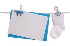 κενή κάλτσα σημειώσεων μω& στοκ φωτογραφία με δικαίωμα ελεύθερης χρήσης