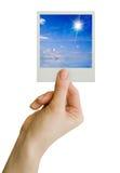 κενή κάρτα Στοκ φωτογραφία με δικαίωμα ελεύθερης χρήσης