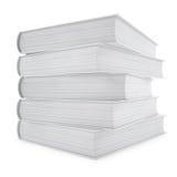 κενή κάλυψη βιβλίων Στοκ Φωτογραφία
