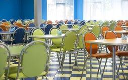 Κενή καφετέρια Στοκ εικόνες με δικαίωμα ελεύθερης χρήσης