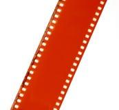 Κενή κοκκιώδης σύσταση λουρίδων ταινιών στοκ φωτογραφίες