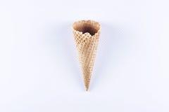 Κενή κορνέτα παγωτού Στοκ Εικόνα