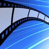 κενή λουρίδα ταινιών ανασ&k Στοκ Εικόνα