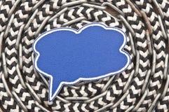 Κενή ομιλία φυσαλίδων σημαδιών Στοκ Εικόνες