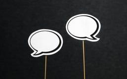 κενή ομιλία φυσαλίδων στοκ φωτογραφίες με δικαίωμα ελεύθερης χρήσης