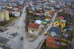 κενή οδός Στοκ Φωτογραφία