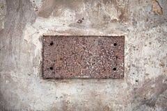 κενή πέτρα ετικετών γρανίτη Στοκ εικόνες με δικαίωμα ελεύθερης χρήσης