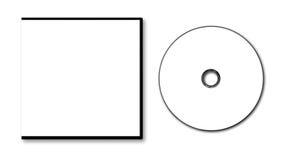 Κενή περίπτωση και δίσκος DVD Στοκ εικόνες με δικαίωμα ελεύθερης χρήσης