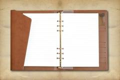 κενή σπείρα σημειωματάριω& Στοκ φωτογραφίες με δικαίωμα ελεύθερης χρήσης