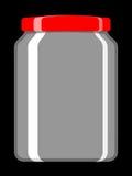 κενή συντήρηση βάζων Στοκ φωτογραφία με δικαίωμα ελεύθερης χρήσης