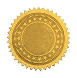 Κενή σφραγίδα αστεριών Στοκ φωτογραφία με δικαίωμα ελεύθερης χρήσης