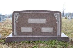κενή ταφόπετρα ευρέως Στοκ εικόνες με δικαίωμα ελεύθερης χρήσης