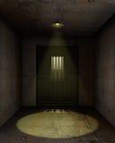 κενή φυλακή κυττάρων Στοκ Φωτογραφίες