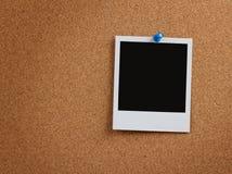 κενή φωτογραφία μονοπατιών φελλού ψαλιδίσματος χαρτονιών Στοκ Φωτογραφία