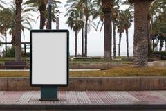 Κενή χλεύη διαφημίσεων επάνω Στοκ εικόνες με δικαίωμα ελεύθερης χρήσης