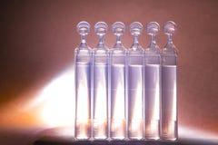 Κενή χλεύη που διαφημίζει επάνω με το διάστημα αντιγράφων του bufus - πλαστικό στοκ φωτογραφία με δικαίωμα ελεύθερης χρήσης