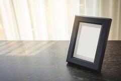 Κενή χλεύη επάνω στην ελαφριά σκιά πρωινού πλαισίων εικόνων Στοκ Φωτογραφίες