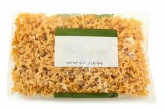 κενή noodle ετικετών αυγών συσ&k Στοκ φωτογραφίες με δικαίωμα ελεύθερης χρήσης