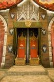 κενοί μέσοι βασιλικοί θρό Στοκ Φωτογραφία