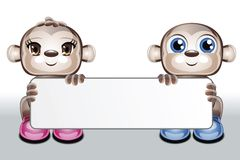 κενοί χαρακτήρες καρτών χ&alp Διανυσματική απεικόνιση