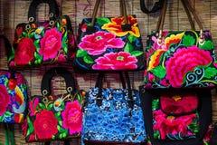 Κεντημένη τσάντα Στοκ Εικόνα