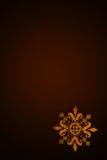 Κεντημένο διαγώνιο λουλούδι Στοκ Εικόνες