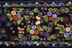 Κεντητική λουλουδιών Στοκ εικόνες με δικαίωμα ελεύθερης χρήσης