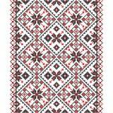 Κεντητική Ουκρανική εθνική διακόσμηση Στοκ Εικόνα