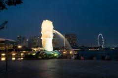 Κεντρικά επιχειρησιακά κτήρια άποψης και ορόσημα της Σιγκαπούρης Στοκ φωτογραφία με δικαίωμα ελεύθερης χρήσης