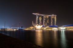 Κεντρικά επιχειρησιακά κτήρια άποψης και ορόσημα της Σιγκαπούρης Στοκ φωτογραφίες με δικαίωμα ελεύθερης χρήσης