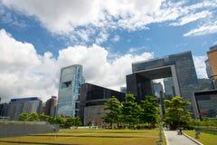 Κεντρικά κυβερνητικά γραφεία Χονγκ Κονγκ Στοκ Εικόνα