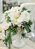 Κεντρικά τεμάχια γαμήλιων πινάκων Στοκ εικόνα με δικαίωμα ελεύθερης χρήσης
