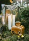 Κεντρικά τεμάχια γαμήλιων πινάκων Στοκ Φωτογραφίες