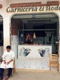 Κεντρικής Αμερικής κατάστημα χασάπηδων Στοκ Εικόνα