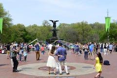 κεντρική άνοιξη πάρκων Στοκ φωτογραφίες με δικαίωμα ελεύθερης χρήσης