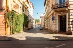 Κεντρική άποψη πόλεων της Κρακοβίας παλαιά στοκ φωτογραφία με δικαίωμα ελεύθερης χρήσης