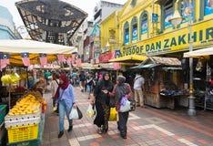 Κεντρική αγορά στη Κουάλα Λουμπούρ Στοκ Φωτογραφίες