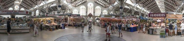 Κεντρική αγορά της Βαλένθια Στοκ Εικόνες